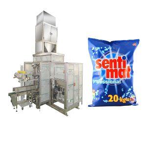 Aŭtomata Premade Big Bag Packing Machine Detergent Powder Malferma buŝo Bagger
